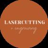 Laser cut button